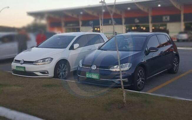 Volkswagen Golf reestilizado foi flagrado sem qualquer camuflagem por nossa redação