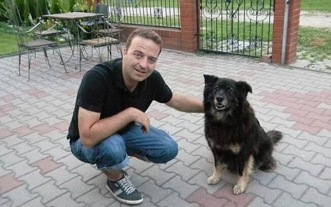 James, antes de ter sido diagnosticado com o tumor, que então pensava se tratar de uma dor de dente