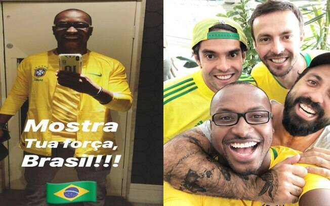 Thiaguinho está empolgado com a Copa do Mundo