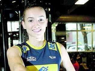 Mineira Gabi, de apenas 20 anos, vai disputar seu primeiro Mundial