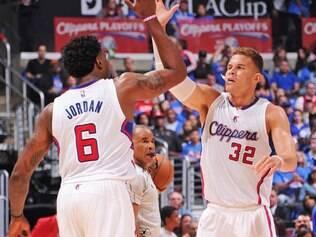 Destaque da vitória do Los Angeles Clippers sobre o Houston Rockets foi DeAndre Jordan, que marcou 26 pontos e ainda pegou 17 rebotes