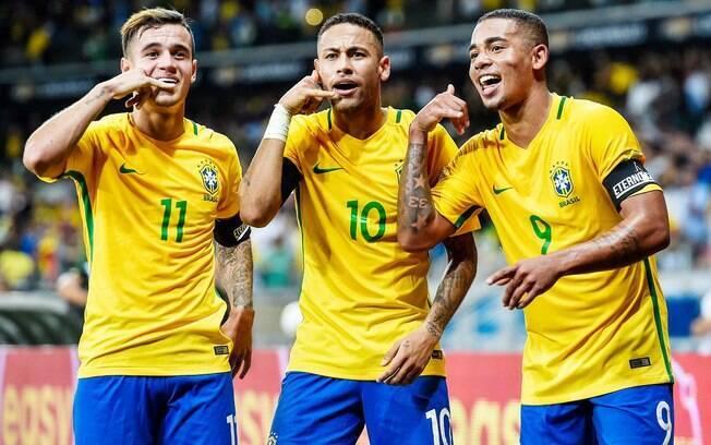 Brasil conhecerá seus rivais da fase de grupos da Copa do Mundo de 2018 no começo de dezembro