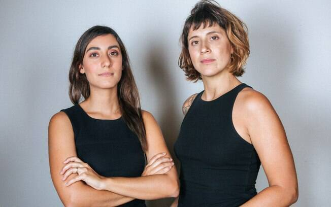As diretoras Amanda_Kamanchek e Fernanda_Frazao