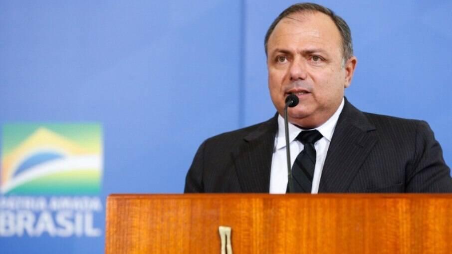 Ex-ministro da saude Eduardo Pazuello