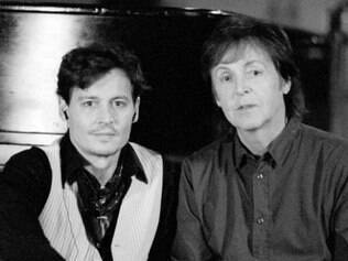 O ator Johnny Depp e o ex-beatle Paul McCartney fazem jam de 30 minutos com ícones do blues