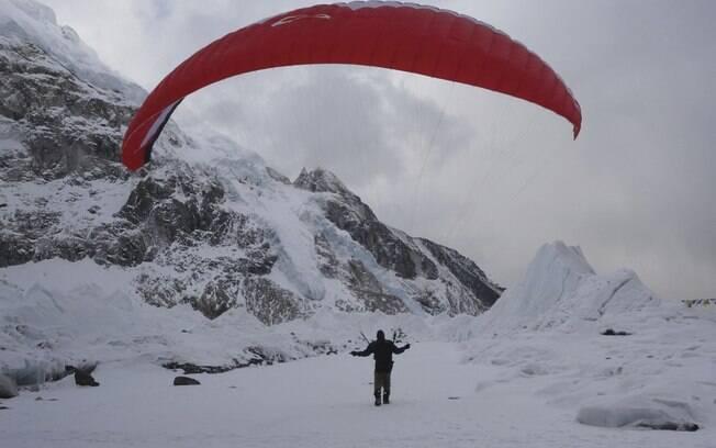 Rodrigo Ranieri, de 49 anos, é uma referência do alpinismo brasileiro