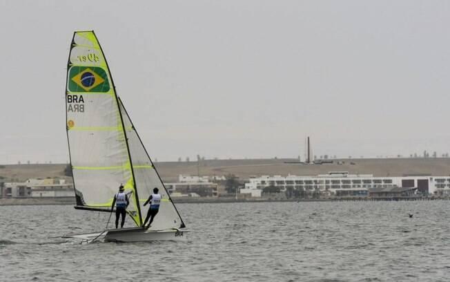 Marco Grael e Gabriel Borges são ouro na classe 49er da vela