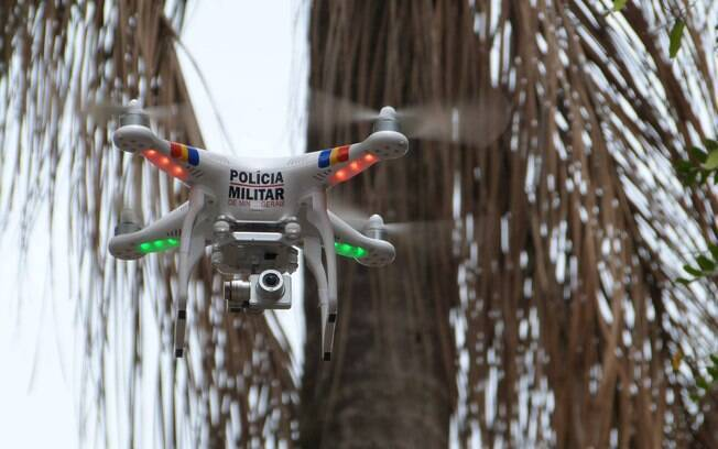 Drone ajudou a encontrar plantação de maconha