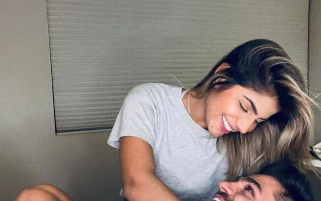Hariany Almeida e DJ Netto