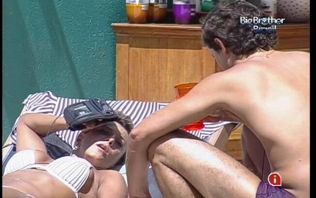 Fael e Fabiana falam sobre jogo na tarde desta terça-feira (06)