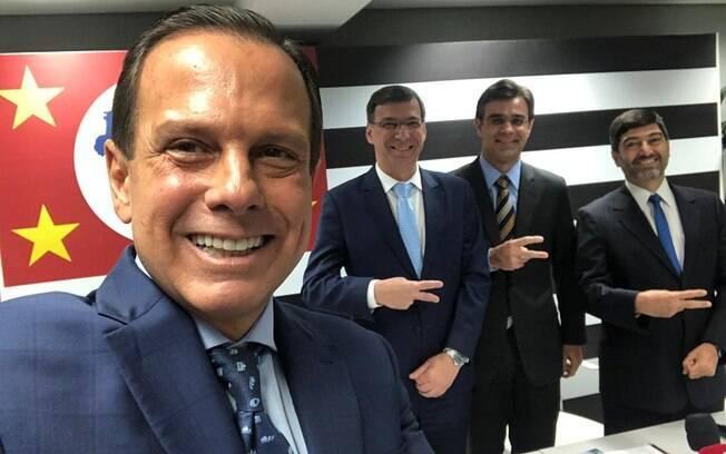 João Doria (PSDB) anunciou novos integrantes de sua equipe; novo secretário comentou transferência do PCC