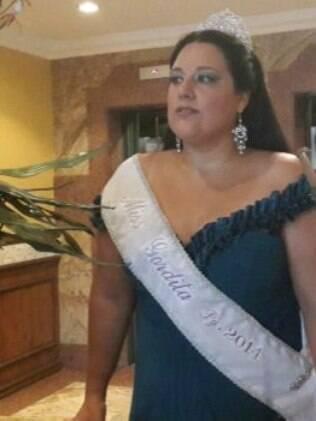 Cintia Colina, Miss Gordita 2014, diz que foi discriminada por muito tempo antes de participar de concurso