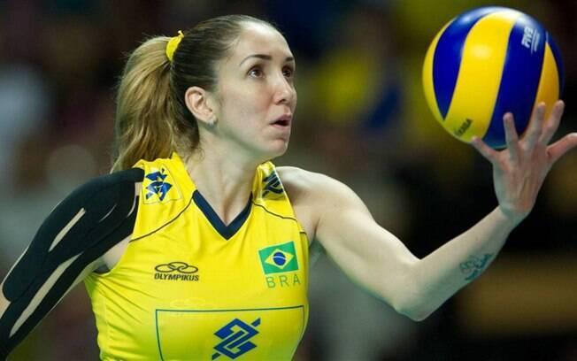 Thaisa jogou nas Olimpíadas do Rio de Janeiro