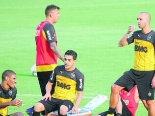 Retorno. Galo espera pela liberação do efeito suspensivo para contar com Tardelli e ter força máxima contra o Flamengo nesta noite