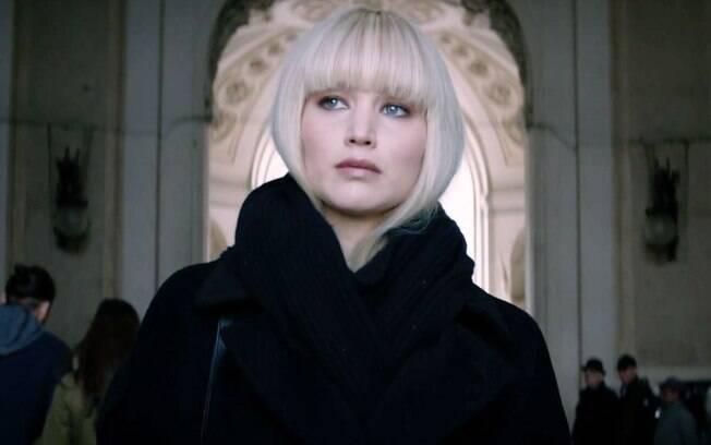 Jennifer Lawrence vive espiã russa treinada para seduzir e matar seus inimigos no filme ''Operação Red Sparrow''