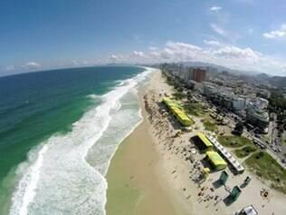 Quarta etapa do Mundial de Surfe é disputada na Barra da Tijuca, no Rio de Janeiro
