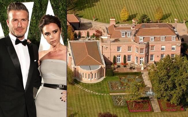 Casal Beckham quer R$ 52 milhões pela mansão