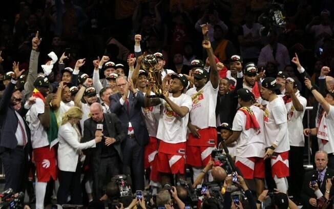 Atual campeão, o Toronto Raptors segue na briga pelo bicampeonato