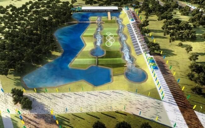 Local que receberá as provas de canoagem  slalom em 2016