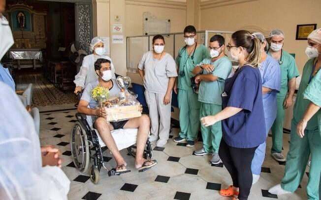 Hospital dá alta ao milésimo paciente curado da covid-19 em Campinas