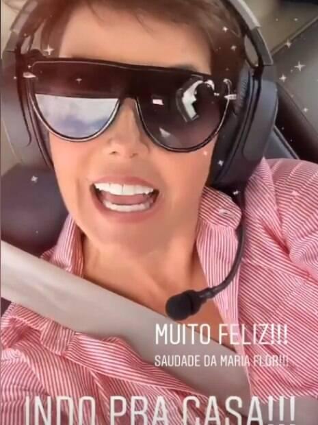 Deborah Secco compartilha saída do hospital em seu Instagram