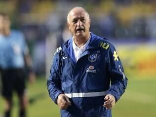 Luiz Felipe Scolari, técnico da Seleção Brasileira de Futebol