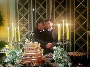 André e João enfim casados