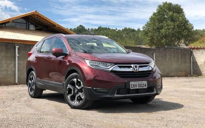 Honda CR-V: nova geração ficou mais arrojada, bem equipada e com melhor desempenho, mas cobra pela evolução