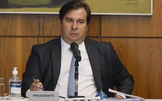 Presidente da Câmara Rodrigo Maia