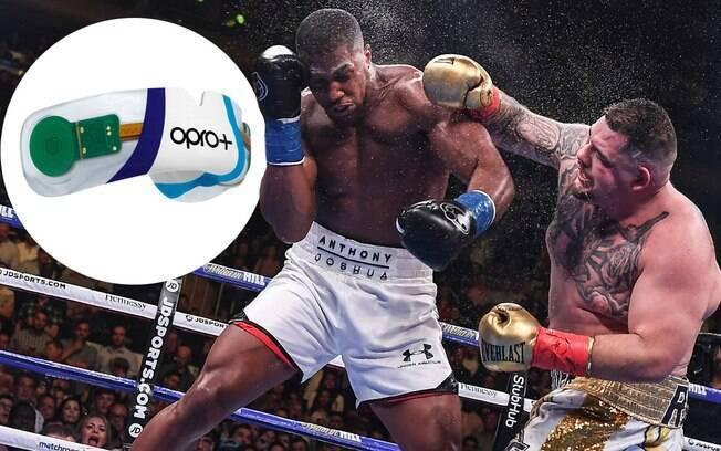 Revolucionário! Protetor bucal com microchip será usado por Anthony Joshua em luta de boxe