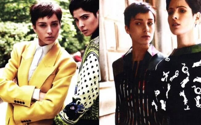 Isabel Hickmann participa de editorial de moda da Vogue Alemanha
