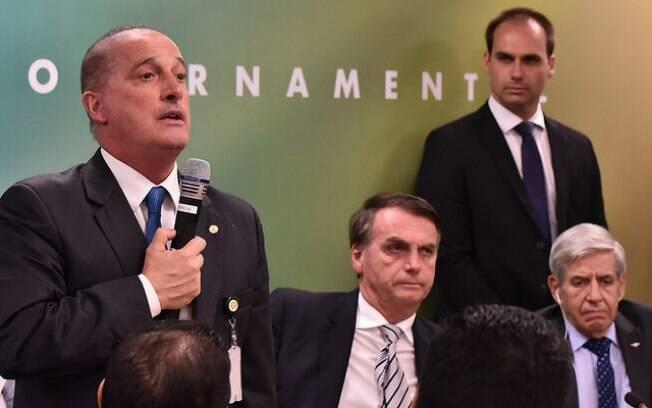 Futuros ministros se reúnem com presidente eleito para apresentar desenho da estrutura ministerial do governo Bolsonaro