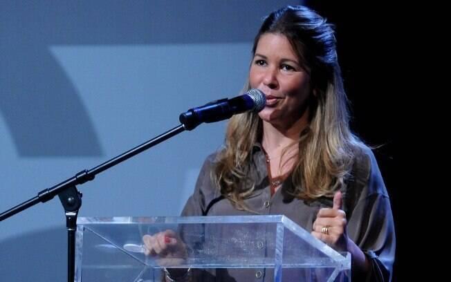 Daniela Beyruti apresentou as apostas da grade de programação do SBT nesta terça-feira (18)