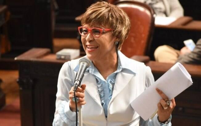 Deputada Tia Ju (PRB) estará na disputa pela presidência da Alerj