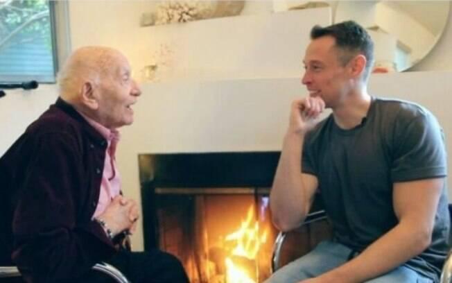 O avô contou sua história ao youtuber Davey Wavey
