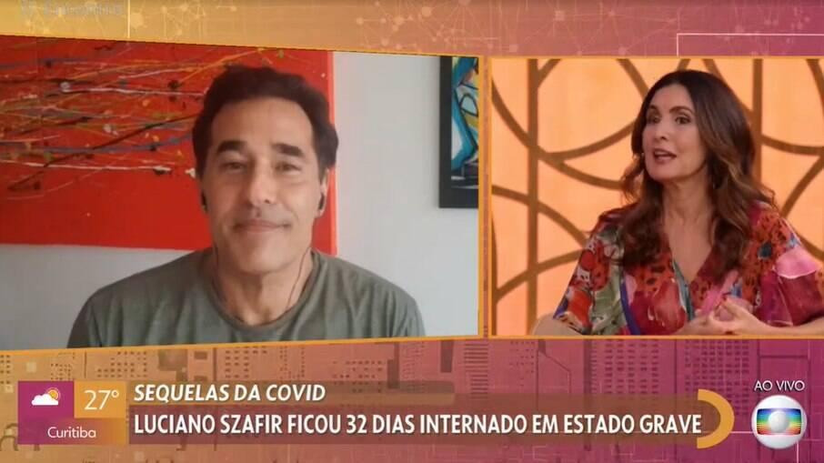 Luciano Szafir fala sobre Covid-19
