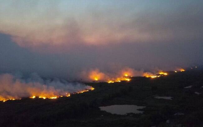 Fumaça proveniente dos incêndios no Pantanal já atingem São Paulo