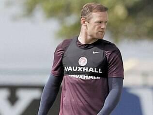 Wayne Rooney é o nome mais conhecido do English Team
