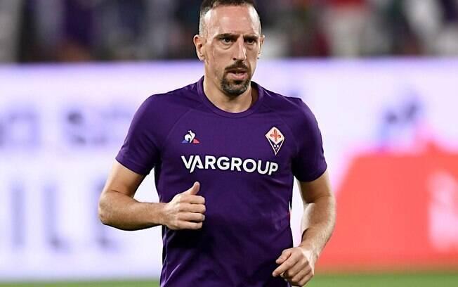 Franck Ribéry pode deixar a Fiorentina
