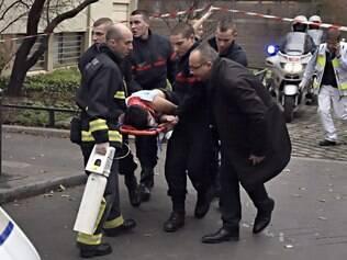 Resgate a vítima de atentado