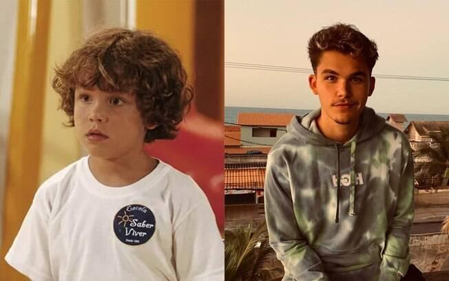 Gabriel Kaufmann estreou na televisão aos 5 anos, em