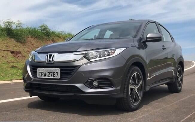 Honda HR-V: Visualmente, o modelo 2020 traz as mudanças visuais aplicadas à linha no ano passado