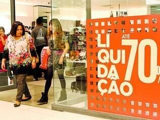 Público.  No Shopping Cidade, previsão é que cerca de 400 mil pessoas circulem por lá até domingo