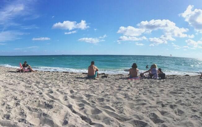 Para quem curte praia, South Beach é uma opção badalada que fica próxima a centros de compras