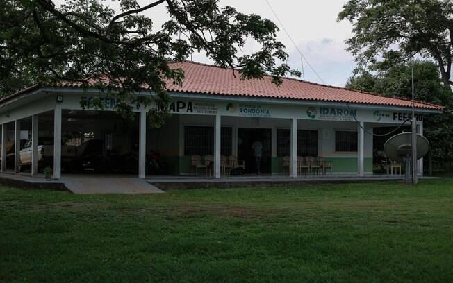 Apesar de embargo do Iphan, sede do Idaron foi construída em cima de cemitério indígena