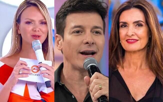 Eliana, Faro e Fátima Bernardes
