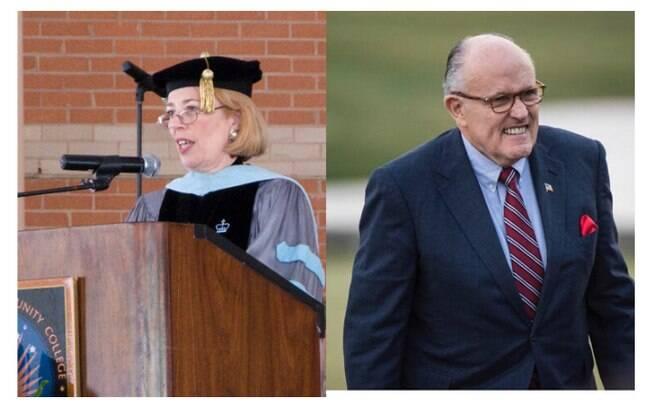 O ex-prefeito de Nova York, Rudy Giuliani, foi casado por 14 anos com sua prima Regina Peruggi. Foto: Reprodução/ Instagram