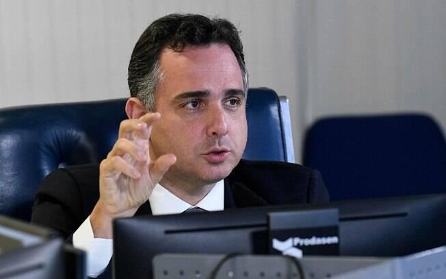 Rodrigo Pacheco (DEM-MG), presidente do Senado, se desgastou com Bolsonaro ao iniciar a abertura da CPI da Covid