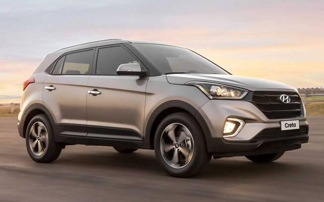 O Hyundai Creta é oferecido com motor 1.6 nas versões manual ou automática e com 2.0 somente na automática.