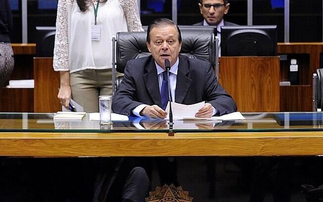 O deputado Jovair Arantes (GO) é indicado do PTB para a comissão do impeachment.. Foto: Alex Ferreira / Câmara dos Deputados - 17.02.16